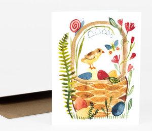 Card-Easter Basket
