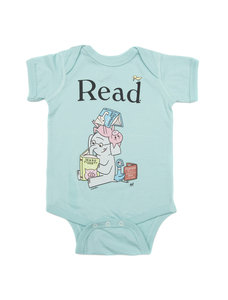ELEPHANT & PIGGIE Read Bodysuit