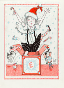 Eloise Christmas Notecard Set