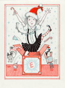 Eloise Christmas Card