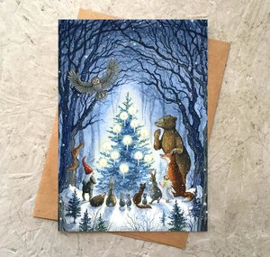 Enchanted Tree Card
