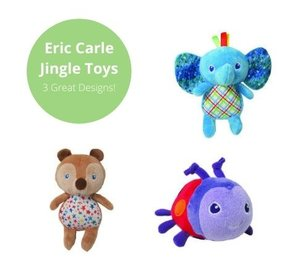 Eric Carle Mini Jingle Toy - Assorted