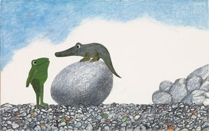 Leo Lionni Postcard - Extraordinary Egg