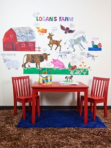Eric Carle Farm Wall Decals