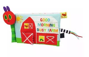Eric Carle Farm Soft Book