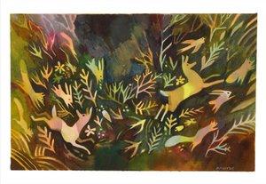 Matt Forsythe Print - The Gold Leaf
