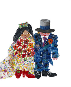 Eric Carle Wedding Card