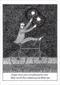 Edward Gorey Card - Pleased to See