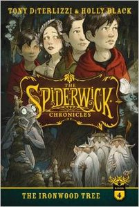 Spiderwick #4 The Ironwood Tree - Autographed Softcover