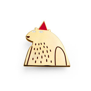 Jon Klassen I Want My Hat Back Pin (Limited Edition)