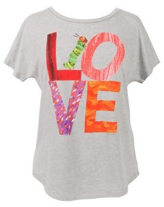 Very Hungry Caterpillar LOVE Ladies T-Shirt