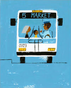 Christian Robinson Print - Last Stop on Market Street Bus