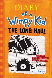 Diary of a Wimpy Kid #9 Long Haul - Autographed