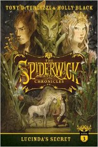 Spiderwick #3 Lucinda's Secret - Autographed Softcover