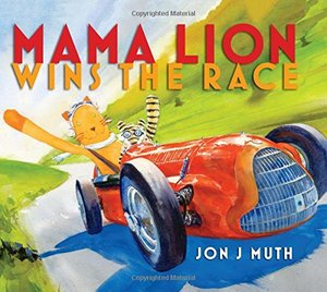 Mama Lion Wins the Race - Autographed