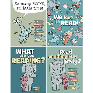 Mo Willems Mini Poster Set