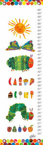 Very Hungry Caterpillar Canvas Growth Chart