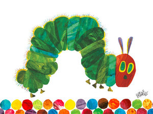 Caterpillar Canvas Wall Art (Large)