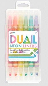 Dual Liner Neon Highlighter