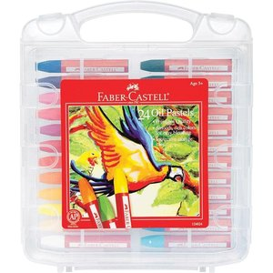 Oil Pastels in Case (Set of 24)
