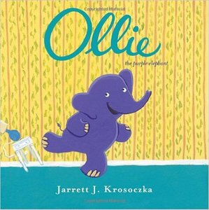 Ollie The Purple Elephant - Autographed