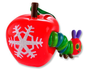 Very Hungry Caterpillar & Apple Ornament