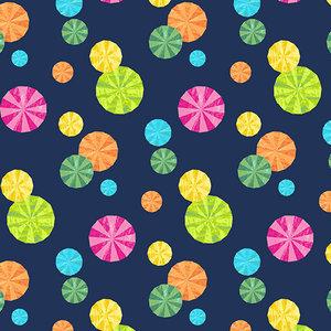 Fabric-Peppermint Parasol Blue