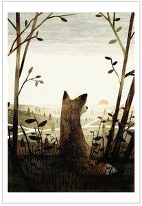 Jon Klassen Print - Pax Cover
