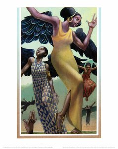 Leo & Diane Dillon Print - The People Could Fly