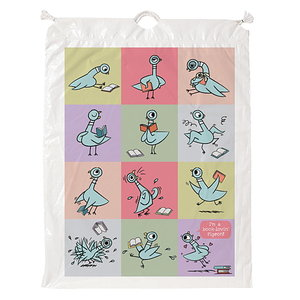 Pigeon Drawstring Bag