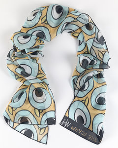 Mo Willems Pigeon Silk Scarf