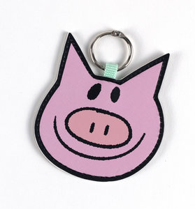 Piggie Key Chain