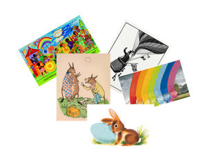 Children's Illustration Postcard Pack of 25