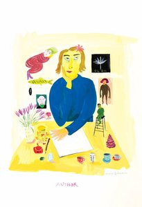 Maira Kalman Postcard - Author