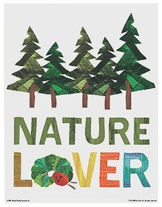 Eric Carle Poster - Nature Lover
