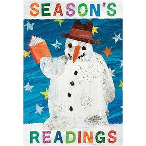 Eric Carle Season Poster - Winter