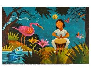Rafael Lopez Print - Drum Dream Girl