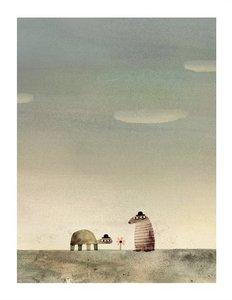 Print-Klassen Rock from the Sky