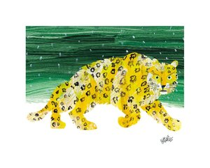 Snow Leopard Limited Edition Print