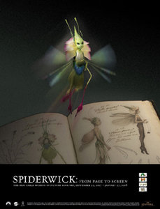 Spiderwick Exhibition Poster