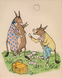 William Steig Postcard - Sylvester & the Magic Pebble