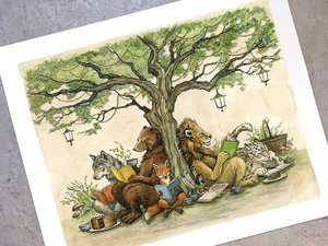 Astrid Sheckels Limited Edition Print - Under the Story Tree