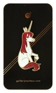 Uni the Unicorn Enamel pin