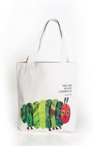 Very Hungry Caterpillar Cover Tote Bag
