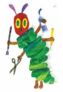 Eric Carle Postcard - Crafty Caterpillar