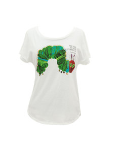 Very Hungry Caterpillar Ladies Dolman Sleeve T-Shirt