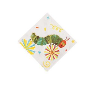 Caterpillar Small Party Napkins