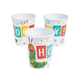 Very Hungry Caterpillar Hooray Paper Cups (Set of 8)