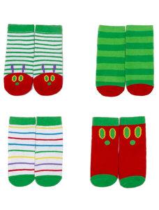 Caterpillar Socks Youth (4 pk)