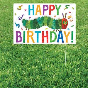 VHC Happy Birthday Lawn Sign